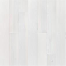 Паркетная доска Barlinek Ясень Лайм Сорбет Белый Гранде (Ash Lime Sorbet White Grande) коллекция Pure - 1W1000489