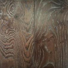 Массивная доска Cezar Parquet Дуб Серебряный Орех структур 19,5х130х400-1700 Ф1,0х4 лак