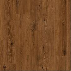 Плитка ПВХ Clix Floor Дуб классический коричневый коллекция Classic Plank CXCL40066