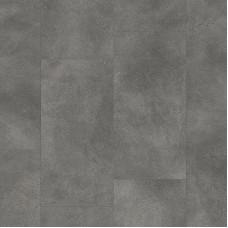 Плитка ПВХ Clix Floor Бетон средне-серый шлифованный коллекция Tiles CXTI40197