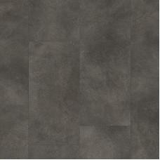 Плитка ПВХ Clix Floor Бетон темно-серый шлифованный коллекция Tiles CXTI40198