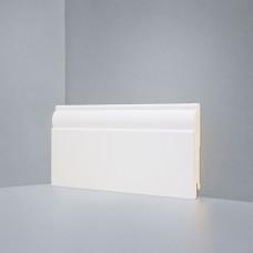 Плинтус Deartio Кремовый МДФ коллекция Белый и цветной U 104-100 9010