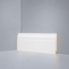 Плинтус Deartio Кремовый МДФ коллекция Белый и цветной U 104-80 9010