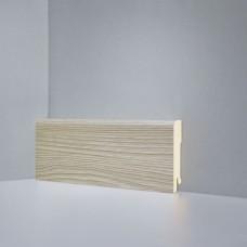 Плинтус Deartio Монте-Карло белый коллекция под дерево Best B202-02