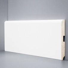 Плинтус Deartio Белый МДФ коллекция Белый и цветной U 102-120
