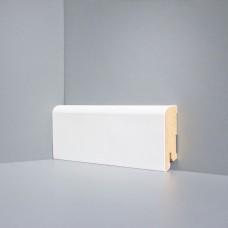 Плинтус Deartio Белый МДФ коллекция Белый и цветной U 102-60