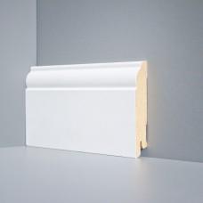 Плинтус Deartio Белый МДФ коллекция Белый и цветной U 104-100