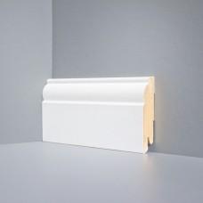 Плинтус Deartio Белый МДФ коллекция Белый и цветной U 104-80
