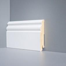 Плинтус Deartio Белый МДФ коллекция Белый и цветной U 105-100