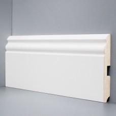 Плинтус Deartio Белый МДФ коллекция Белый и цветной U 105-120