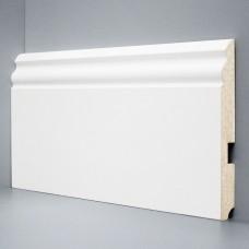 Плинтус Deartio Белый МДФ коллекция Белый и цветной U 105-150