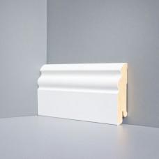 Плинтус Deartio Белый МДФ коллекция Белый и цветной U 105-80