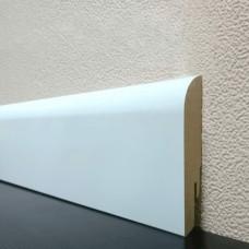 Плинтус DL Profiles Linea Pregio White 75 MDF 75 x 16 мм