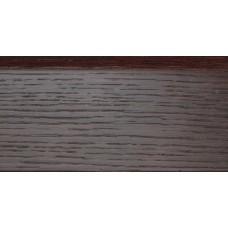 Плинтус деревянный DL Profiles С9 Дуб Кофе 75 мм2.4м