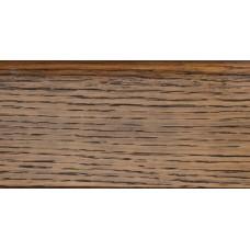 Плинтус деревянный DL Profiles G12 Дуб Королевский 75мм 2.4м