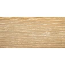 Плинтус деревянный DL Profiles 023 Дуб Копченый Белый 60мм 2.4м