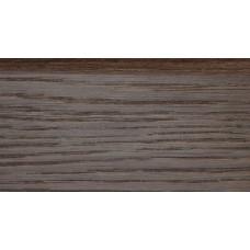 Плинтус деревянный DL Profiles Р5 дуб Мореный 75мм 2.4м