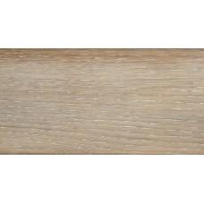 Плинтус деревянный DL Profiles Р4 Дуб Белый75мм 2.4м