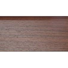 Плинтус деревянный DL Profiles С11 Орех Темный 75мм 2.4м