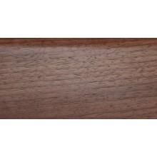 Плинтус деревянный DL Profiles 018 Орех Светлый 60мм 2.4м