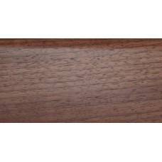 Плинтус деревянный DL Profiles 018 Орех Светлый 75мм 2.4м