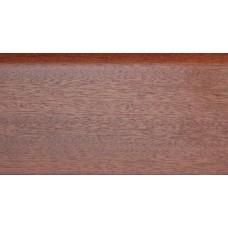Плинтус деревянный DL Profiles 017 Сапели 75мм 2.4м
