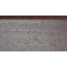 Плинтус деревянный DL Profiles 008 Венге Натур Светлый 75мм 2.4м