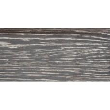 Плинтус деревянный DL Profiles 019 Ясень Эспрессо 75мм 2.4м