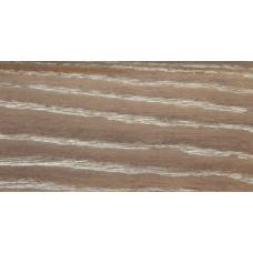 Плинтус деревянный DL Profiles 014 Ясень Сахара 75мм 2.4м