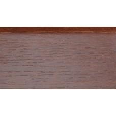 Плинтус деревянный DL Profiles 030 Ясень Термо 75 мм 2.4м