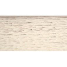 Плинтус деревянный DL Profiles 031 Ясень Белый 60мм 2.4м