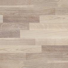 Паркетная доска Focus Floor Дуб Остро белый матовый коллекция Трехполосная 2266 мм