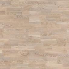 Паркетная доска Focus Floor Дуб Шторм белый коллекция Трехполосная 2266 мм