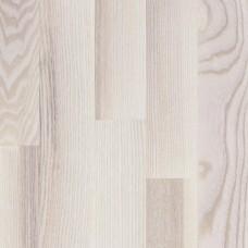 Паркетная доска Focus Floor Ясень Мистраль белый матовый коллекция Трехполосная 2266 мм