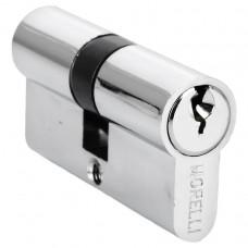Ключевой цилиндр ключ/ключ 60 мм Morelli 60C PC
