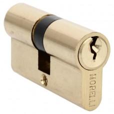 Ключевой цилиндр ключ/ключ 60 мм Morelli 60C PG