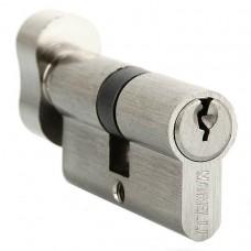 Ключевой цилиндр c поворотной ручкой 60 мм Morelli 60CK SN