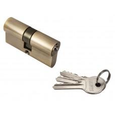Ключевой цилиндр ключ/ключ 60 мм Rucetti R60C AB