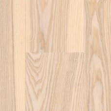 Паркетная доска Haro Ясень арктический белый коллекция 1-полосная 4000 Series Top connect 524892