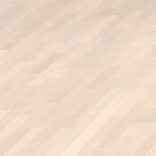 Паркетная доска Haro Ясень Экскьюзит / Эксквизит жемчужно-белый 525130 коллекция 3-полосная 4000 Series Top connect