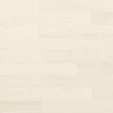Паркетная доска Haro Ясень под белым лаком коллекция 3-полосная 4000 Series Top connect 675130