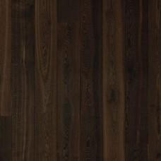 Паркетная доска Karelia Дуб Story Irish Coffee 188 Brown Oil 1S коллекция Импрессио 2000 мм