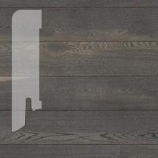 Плинтус Karelia Oak Asphalt Grey шпон 16 x 60 мм