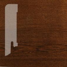 Плинтус Karelia Oak Black Pepper шпон 16 x 60 мм