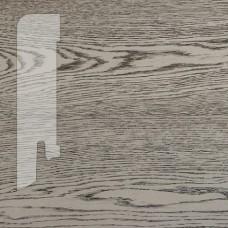 Плинтус Karelia Oak Concrete Grey шпон 16 x 60 мм