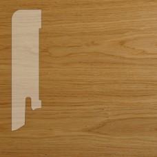 Плинтус Karelia Oak lacquered шпон 16 x 60 мм