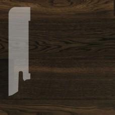 Плинтус Karelia Roastery Brown шпон 16 x 60 мм