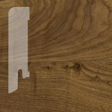 Плинтус Karelia Walnut lacquered шпон 16 x 60 мм