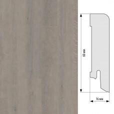 Плинтус Karelia Oak Shadow Grey шпон 15 x 95 мм