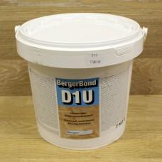 Однокомпонентный дисперсионный клей для ПВХ, резиновых и текстильных покрытий, винила, линолеума BergerBond D1U (Германия)